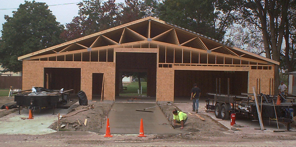 Garage trusses 2015 best auto reviews for 18x8 garage door