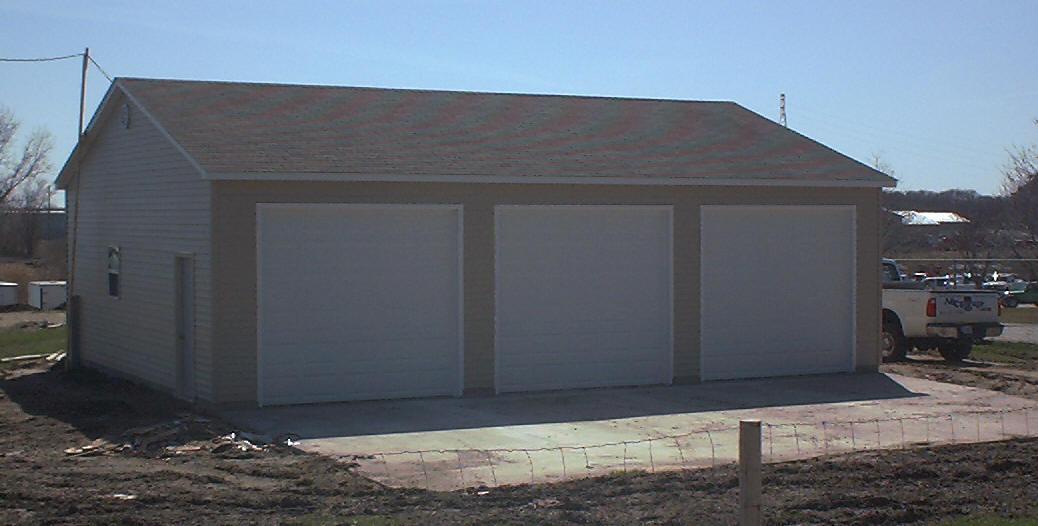 Save hundreds if not thousands for 30 foot wide garage door