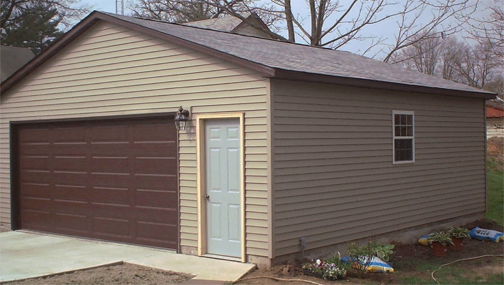 Garage projects illinois iowa for 24x36 garage cost