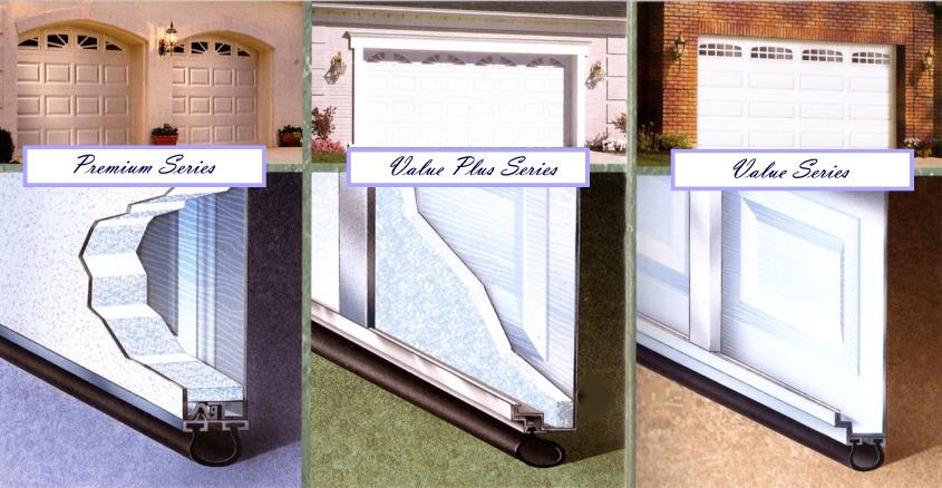 Garage Door Construction, Premium Series 3 Layer, Value Plus Series 2  Layer, Value